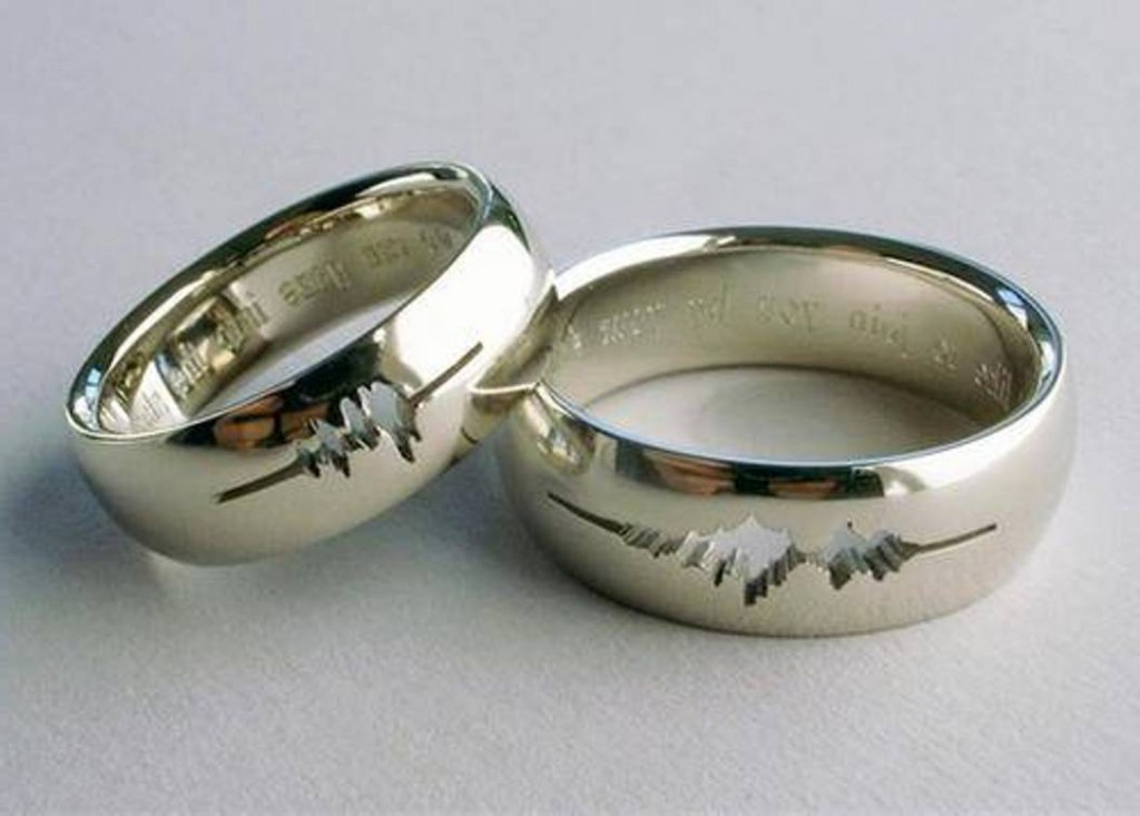 Things to engrave in a wedding band
